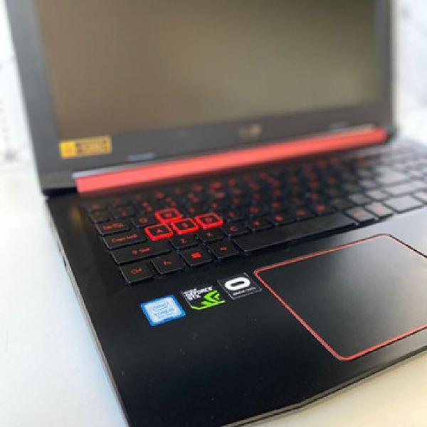 Notebook gamer acer nitro 5 - geforce gtx 1050ti