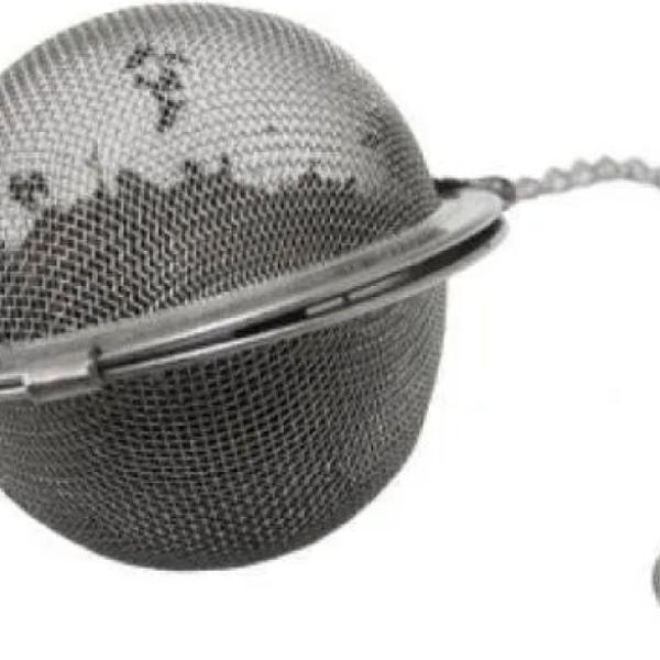 Oferta kit com 4 infusor em inox para chá mini peneira