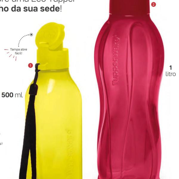 Promoção kit garrafas tupperware