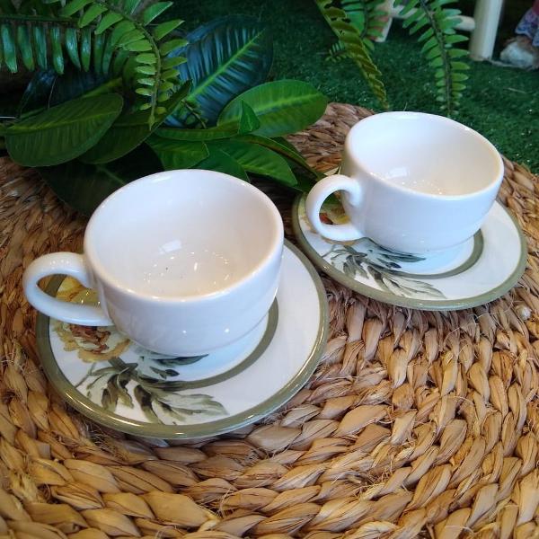 Xícara de café c/ pires marselha (341)