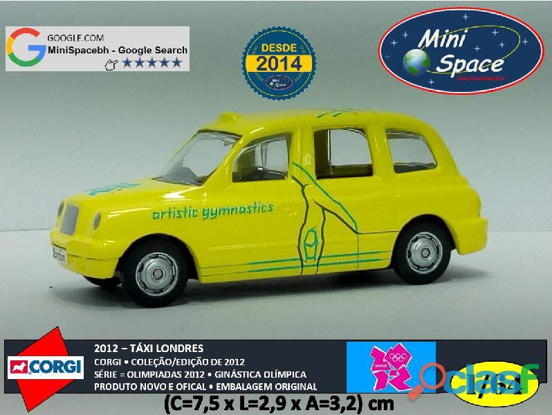 Corgi 2012 táxi londres olimpíadas ginástica olímpica 1/64