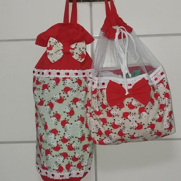 Kit- puxa saco e saco de pão
