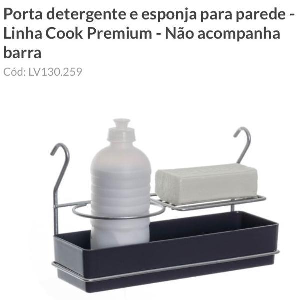 Porta detergente e esponja