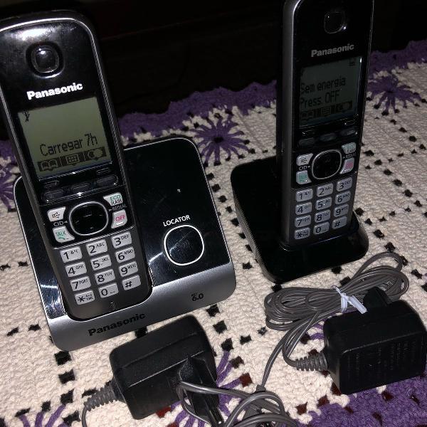 Telefone sem fio panasonic com ramal