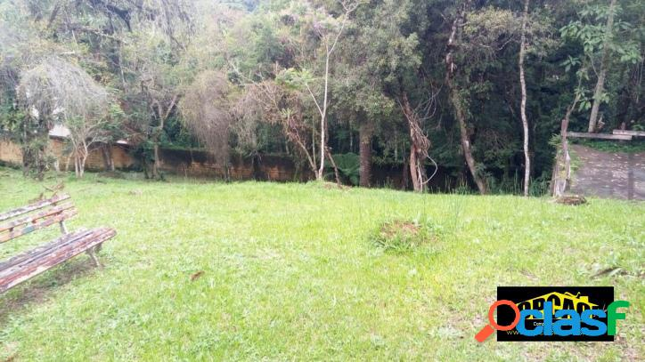 Alto da boa vista - terreno em leve declive gramado todo murado c/ 1.000 m²
