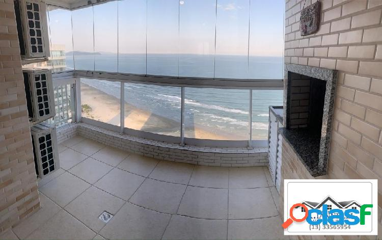 Aluga-se apartamento 2 dormitórios semi mobiliado praia grande sp
