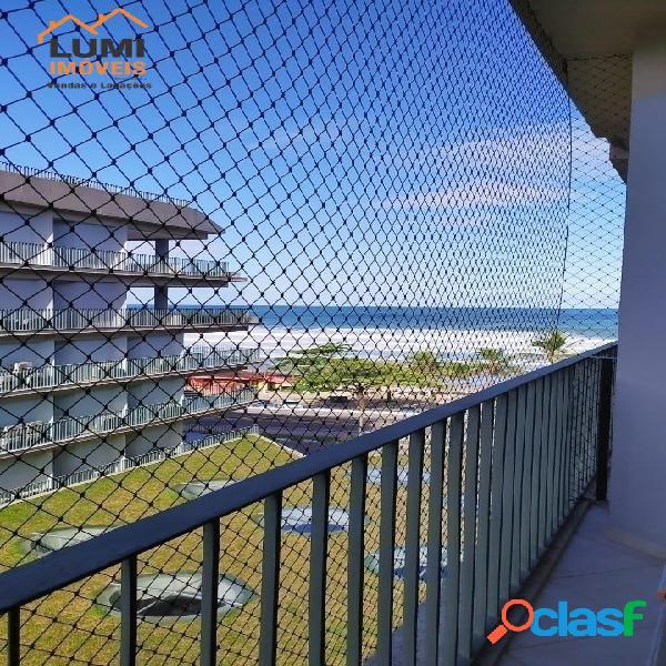 Frente mar cond alto padrão 2 suites, decorado, lindo
