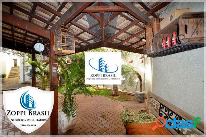 Ca127 - casa, venda, americana, jd.glória, 300 m², 2 quartos, 3 banheiros,