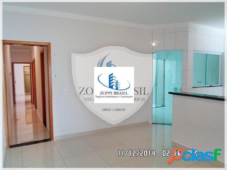 Ca311 - casa, venda, americana, jardim terramércia, 156 m², 3 dormitórios,
