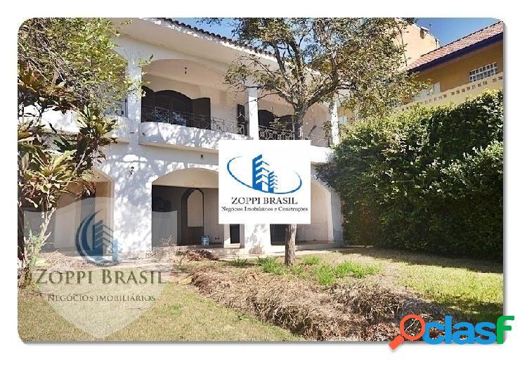 Ca318 - casa, venda, americana, vila jones, 591,50 m² terreno, 443,80 m² co