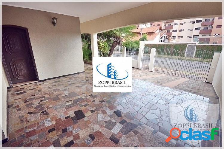 CA430 - Casa, Venda, Americana SP, Jardim Glória. TÉRREA, ESQUINA com 837 m 2