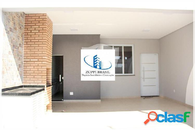 CA560 - Casa à Venda em Americana SP, Jardim Terramérica II, 156,25 m² terr 2
