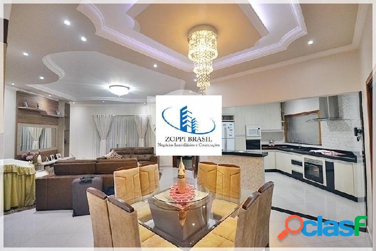 CA585 - Casa à Venda em Americana SP, Jardim Terramérica II, 324 m² terreno 2