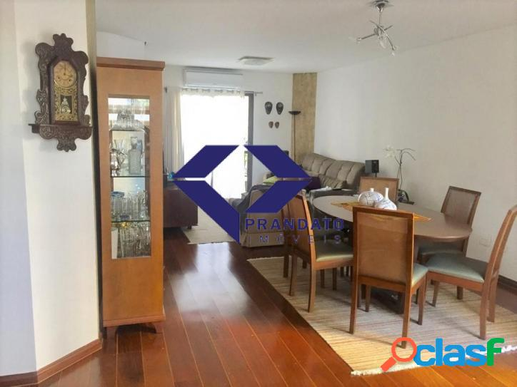 Apartamento a venda campo belo com 3 quartos suite 2vagas 130 m² área útil