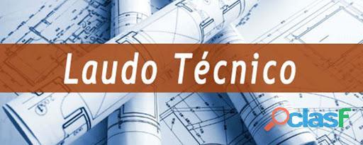 Laudo técnico engenheiro