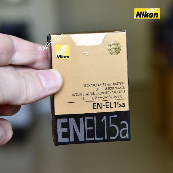 Bateria nikon en el 15a original - pronta entrega em sp