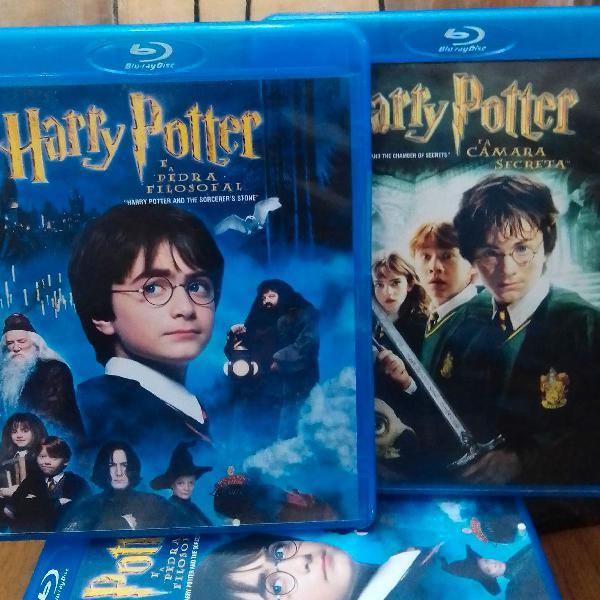 Blu ray harry potter e a pedra filosofal e harry potter e a