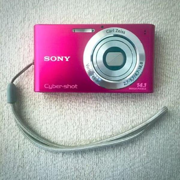 Camera sony cyber shot rosa pink