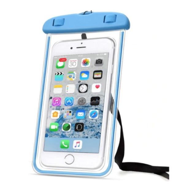 Capa bolsa celular a prova d água proteção mergulhos e