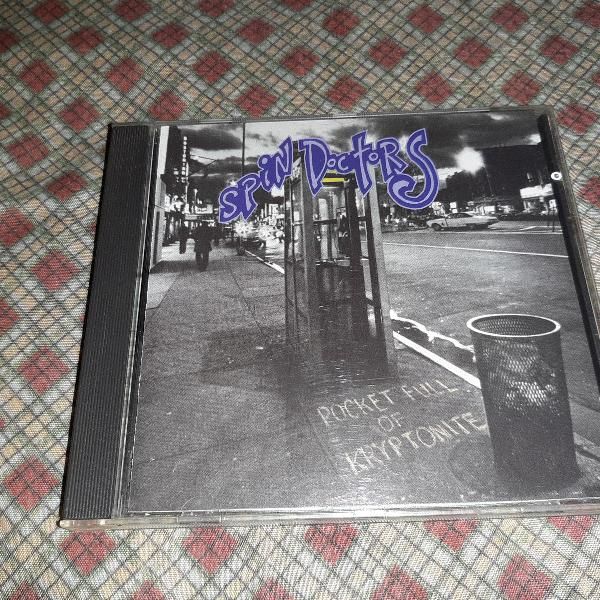 Cd spin doctors - pocket full of kryptonite - importado