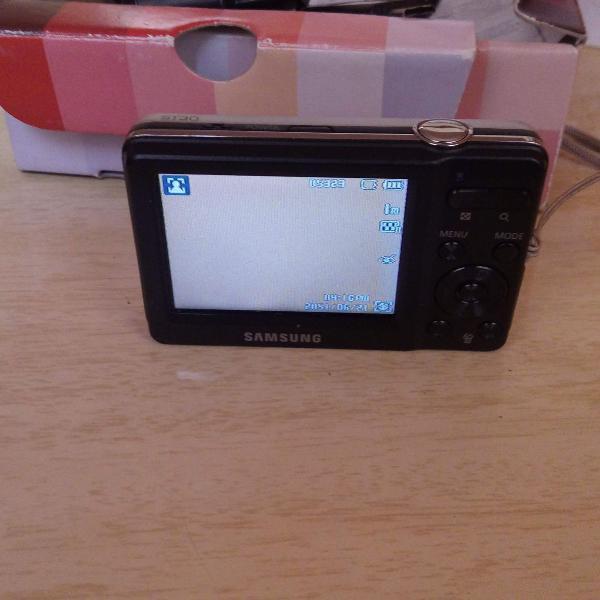 Câmera digital samsung st30 miniatura 10.1 megapixels prata
