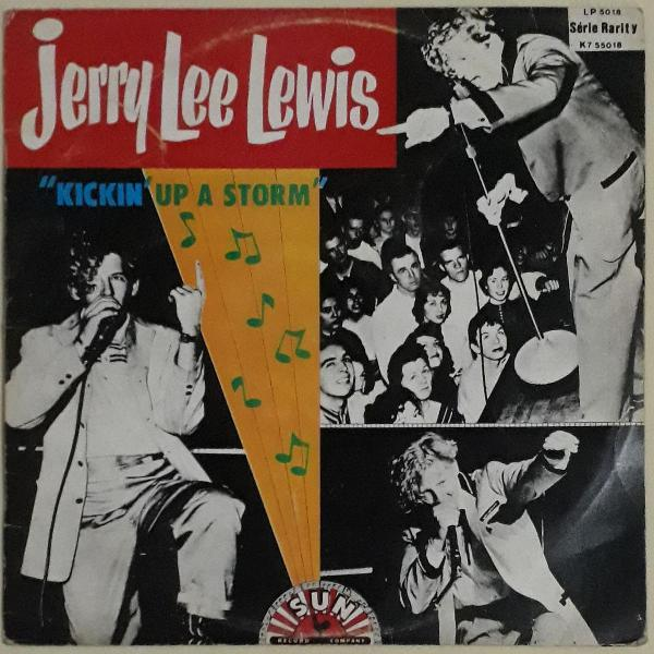 Lp de vinil jerry lee lewis kickin up a storm ótimo estado