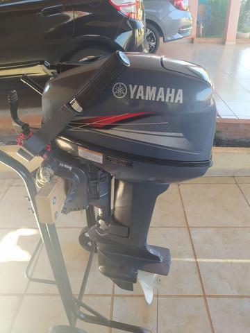 Motor de popa 15 hp 2011 yamaha - parcelo no cartão