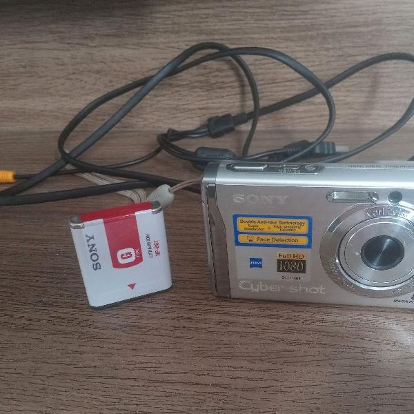 Máquina fotográfica sony cyber-shot