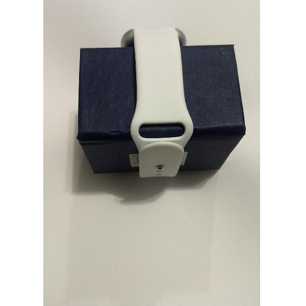 Relogio smarth watch d 20 cor branco bluetoth novo na caixa