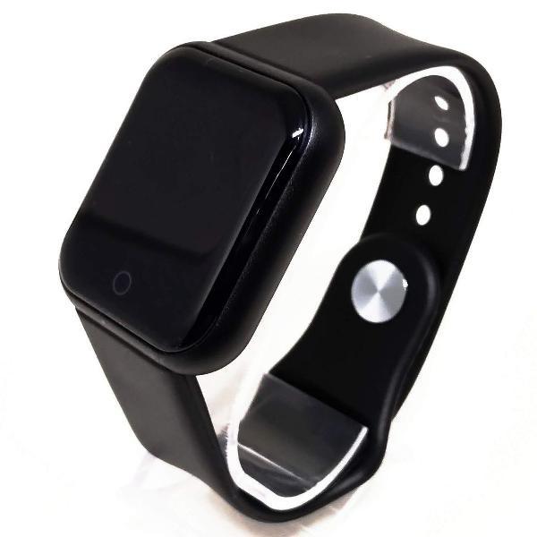 Smartwatch contador passos calorias mede pressão batimentos