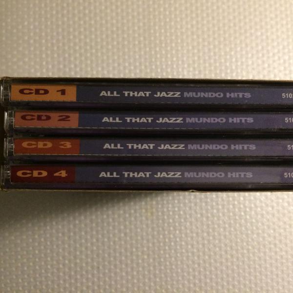 Som na caixa! box cds all that jazz - 100 mundo hits