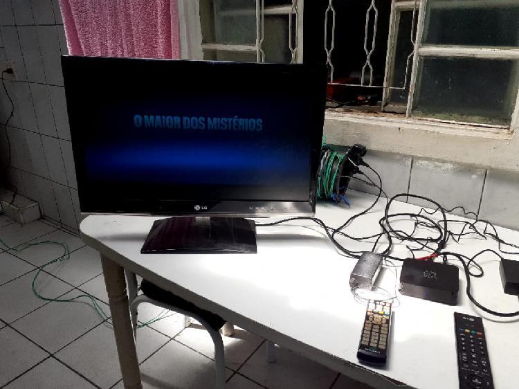 Tv monitor lg 26 pol c/ wi fi