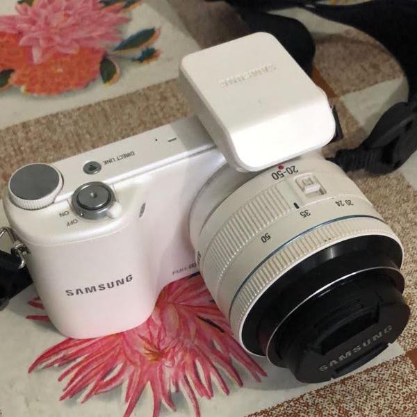Câmera digital samsung smart nx2000 branca