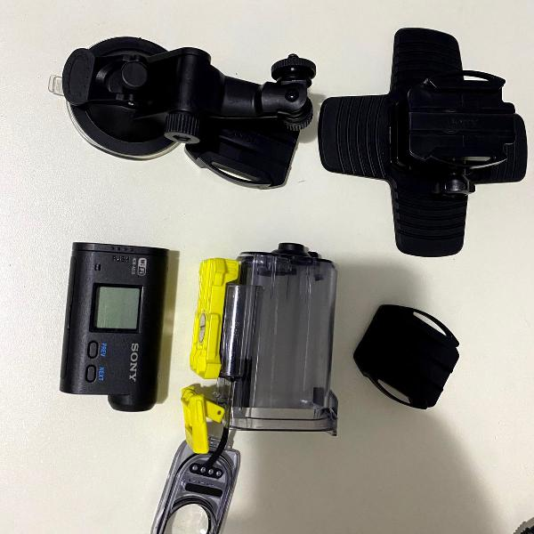 câmera sony action cam