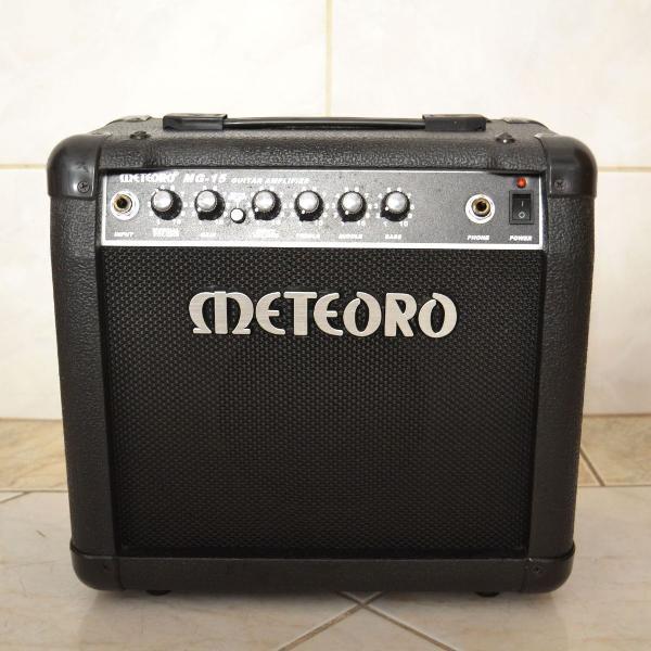 Cubo amplificador meteoro para guitarra 15w - mg15