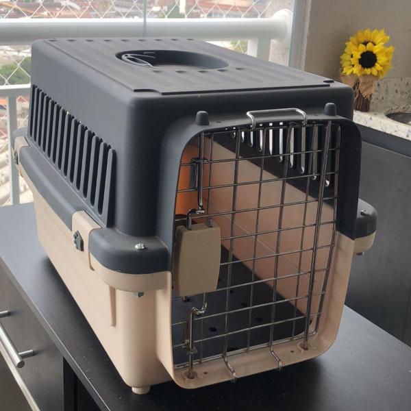 Kennel n2 caixa de transporte avião cão cães cachorro