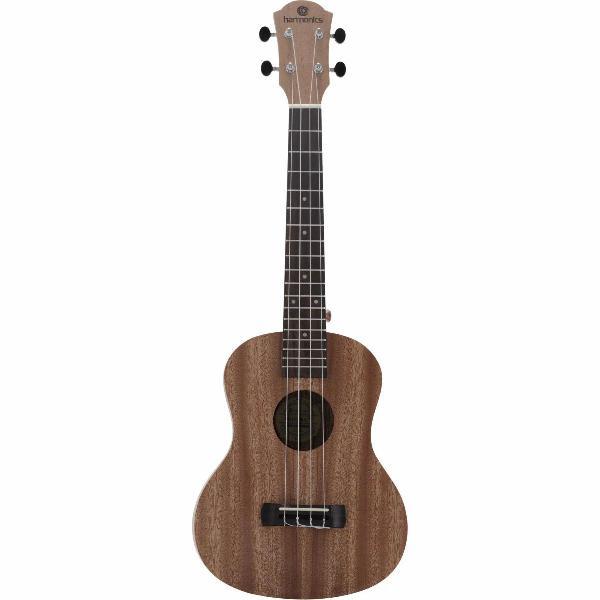 Kit 5 em 1 harmonic ( ukulele harmonic tenor + acessórios )