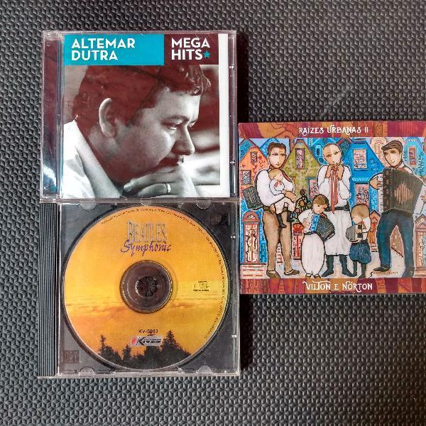Kit cds diversos
