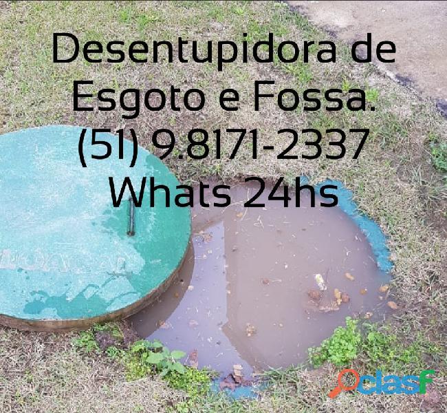 Limpeza de fossa séptica a melhor de poa 51. 98064 1767