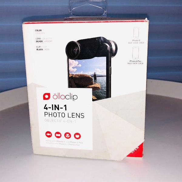 O conjunto 4-in-1 photo lens da olloclip