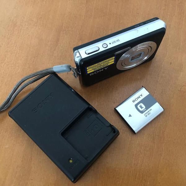 Sony cyber shot dsc dsc-w190 máquina fotográfica 12.1