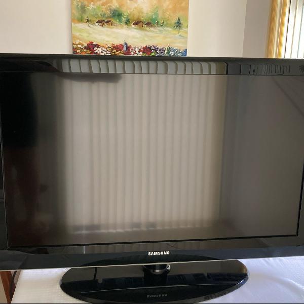 Tv samsung lcd 40 wide screen, full hd. excelente estado e