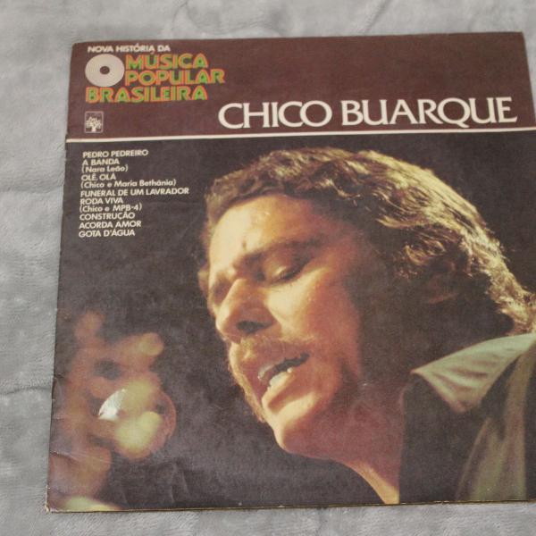 Vinil lp chico buarque nova história da música popular
