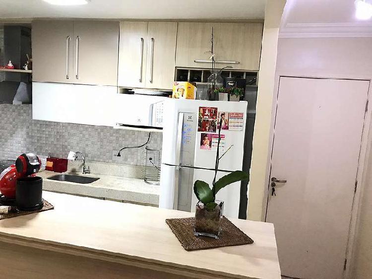Apartamento, 2 dorms, 52m ², com sacada, campo limpo - são