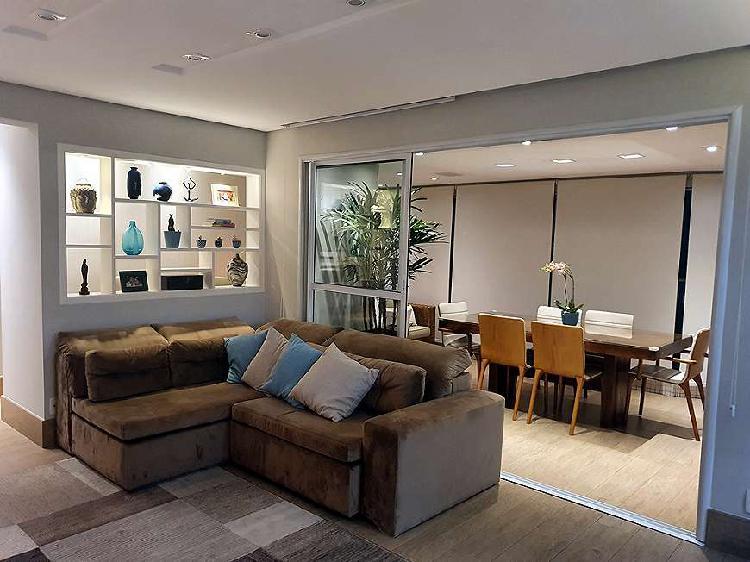 Apartamento para venda possui 108 m² em condomínio clube