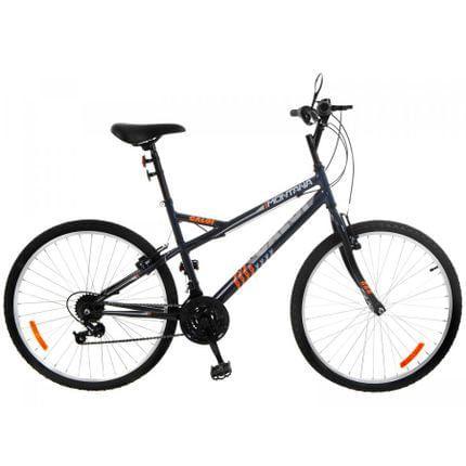 Bicicleta aro 26 mountain bike caloi montana - freio v-brake