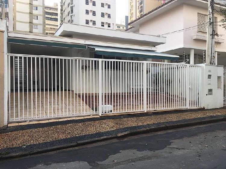 Casa residencial/comercial à venda 4 quartos no cambuí -