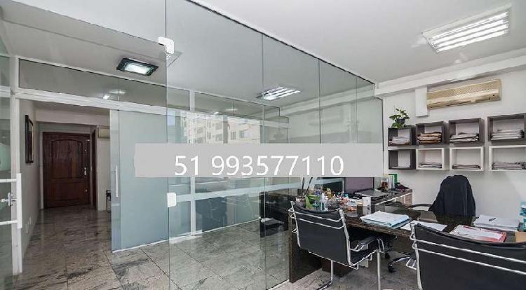Sala/conjunto para venda tem 180 metros quadrados