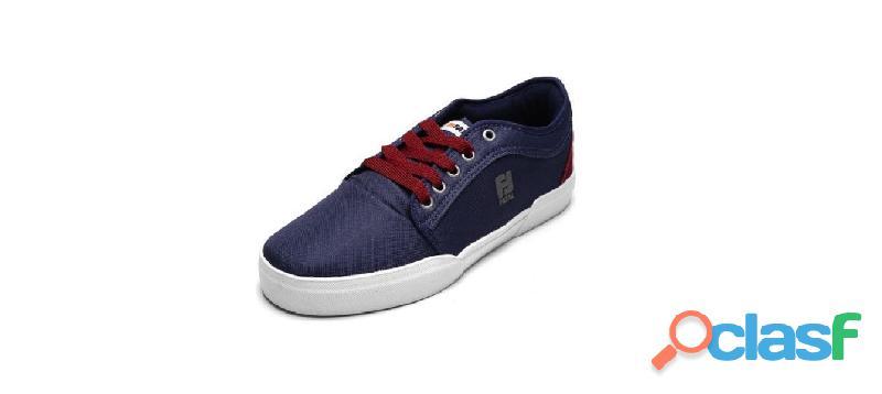 Sapatênis tênis casual masculino tamanho 39 logo fatal azul