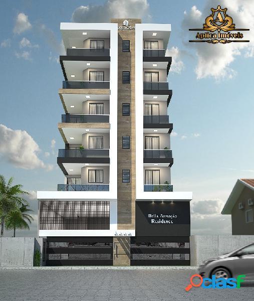 Apartamento 2 quartos em penha - quadra mar - com elevador